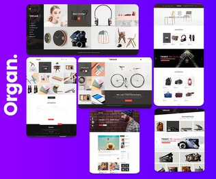 Thumbnail for Organ - Multipurpose Business & agency Template