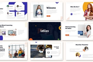 Thumbnail for Idiies - Education Google Slides Template