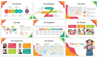 Thumbnail for Kids Zone - Playful Powerpoint Template