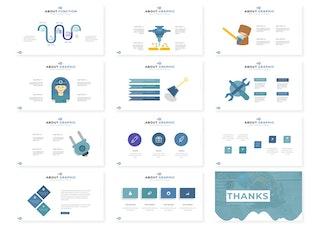 Thumbnail for Tools | Keynote Template