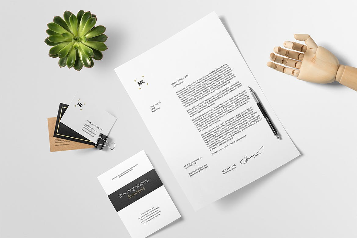 branding mockup essentials vol 4 by genetic96 on envato elements