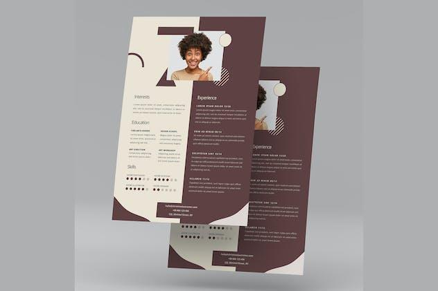 Elegant CV Resume Vol. 04 - product preview 1
