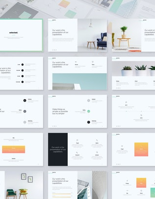 Thumbnail for Selected - Business & Minimal Template (Google)