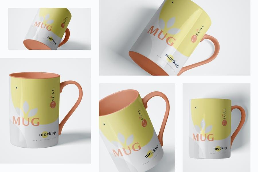 5 Mug Mockups