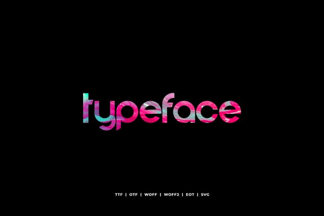 Comodo - Display Typeface + WebFonts - product preview 3