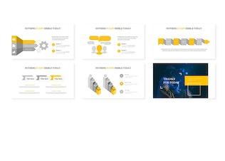 Thumbnail for Amirudin -  Google Slides Template
