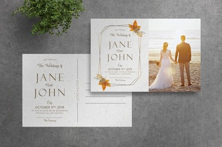 Thumbnail for Deluxe Wedding Invitation Suite