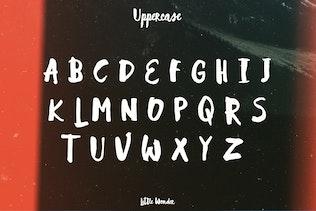 Thumbnail for Little Wonder font