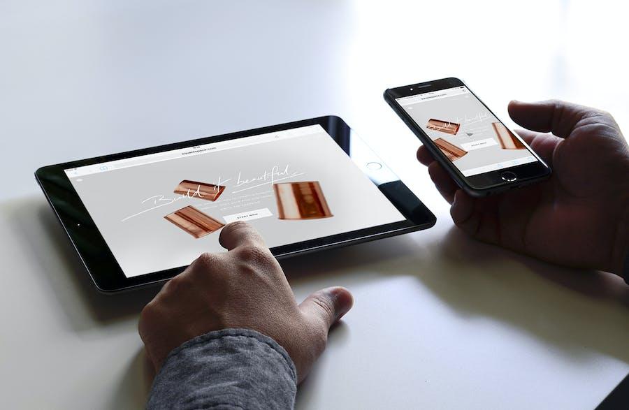 Preview image 3 for Отзывчивый макап устройства