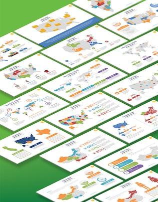Презентация Keynote карты