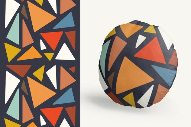 Abstract Shape Retro Patterns - product preview 4