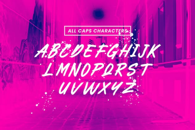 Ragrock Brush Font - product preview 3