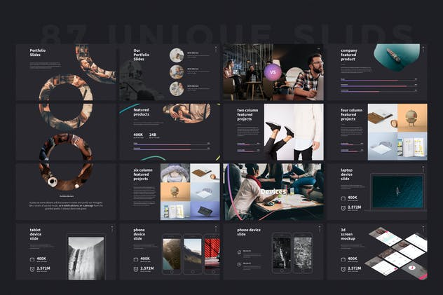 SHAPER Powerpoint Template - product preview 10