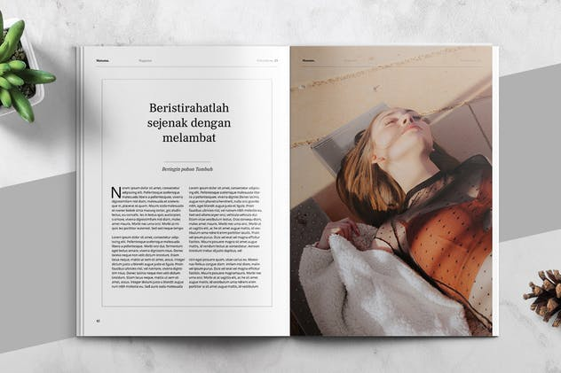 MATAMU - Clean and Minimalist Magazine Template - product preview 7