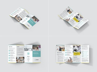Thumbnail for Creative Agency – Brochures Bundle 10 in 1