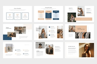 Thumbnail for Umero : Fashion Agency Business Google Slides
