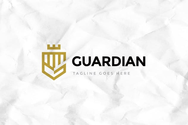 Guardian Logo Template - product preview 1