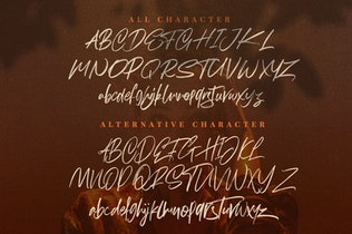 Thumbnail for Hereditary  Script - Signature Brush