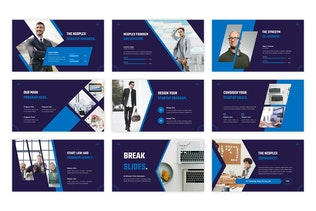 Thumbnail for Neoplex - Business Technology PowerPoint Template