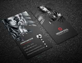 Thumbnail for Photography Business Card