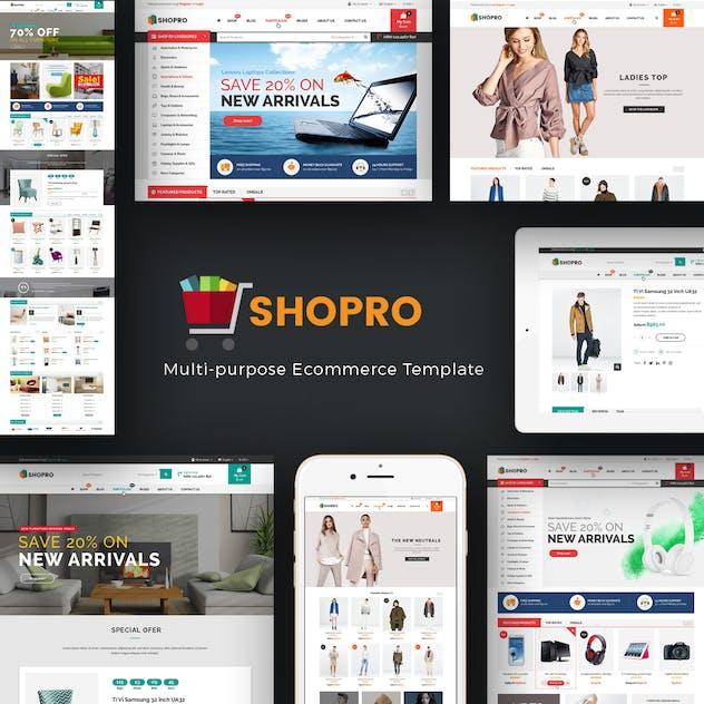 Shopro - Mega Store Responsive Prestashop Theme - product preview 1