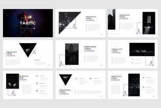 Thumbnail for Tactic - Creative Google Slides Template