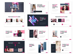 Thumbnail for Blossom - Powerpoint Template