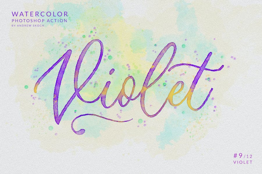 Watercolor Painting - Photoshop Action - product preview 12