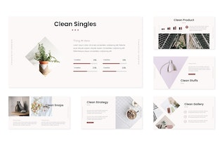 Thumbnail for Clean - Powerpoint Template