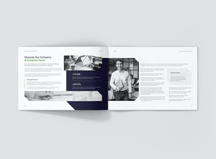 Thumbnail for Creative Multipurpose Company Profile Landscape