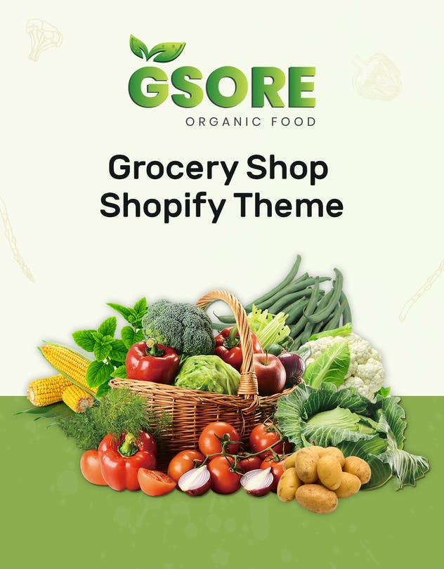 Gsore – Grocery and Organic Food Shop Shopify Them - product preview 1