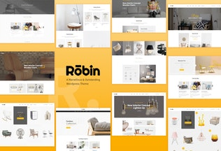 Thumbnail for Robin - An eCommerce PSD Template