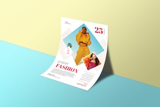Thumbnail for Event Fashion Flyers