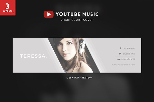 Youtube Music Channel Art - product preview 2
