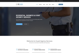 Thumbnail for WE GUARD - Security & Guarding Services HTML