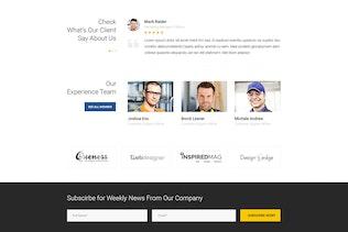 SteelPress - Industrial & Factory Business PSD Tem