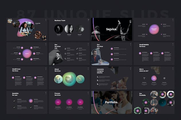 SHAPER Powerpoint Template - product preview 9