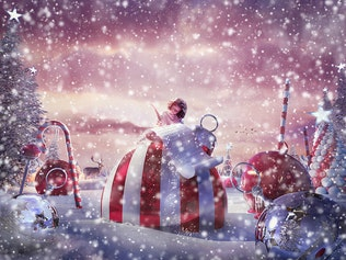 Thumbnail for Snow Animation Photoshop Action