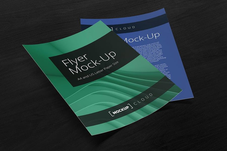 Preview image 3 for Flyer Mockup Set