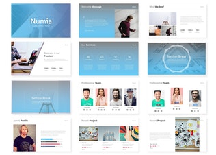 Thumbnail for Numia - Powerpoint Template