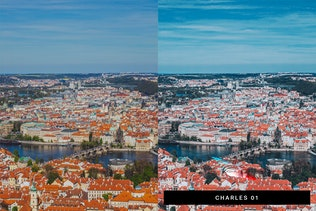 50 Prague Lightroom Presets and LUTs