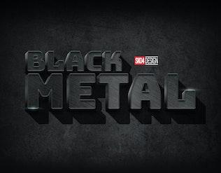 Миниатюра для Черный и Металл — PSD Мокапы