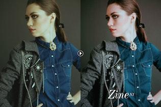 Thumbnail for Zine Fashion Lightroom Presets
