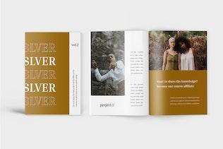 Thumbnail for Slver - Minimalist Workbook Template
