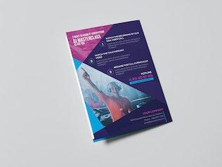 Thumbnail for DJ/ A5 Brochure Template