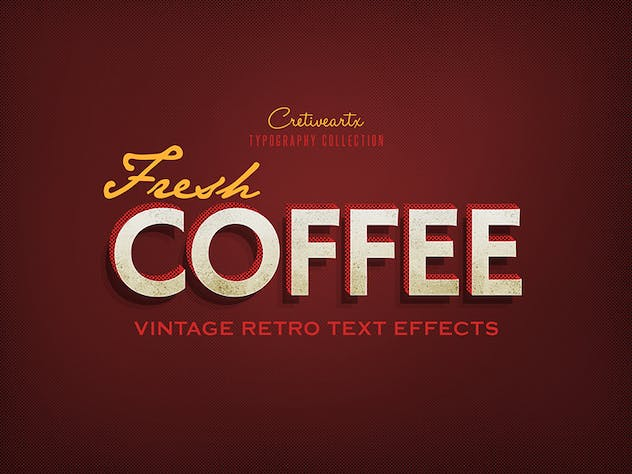 Vintage/Retro Text Effects 7 - product preview 8