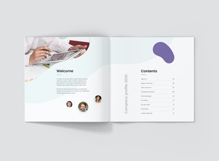 StartUp Agency – Company Profile Square