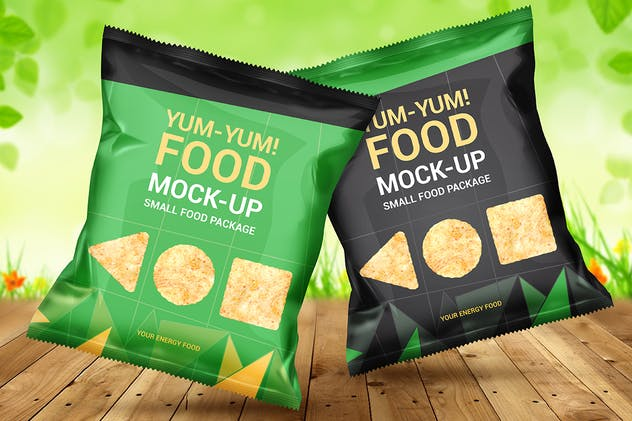 Food Bag Mock-Ups