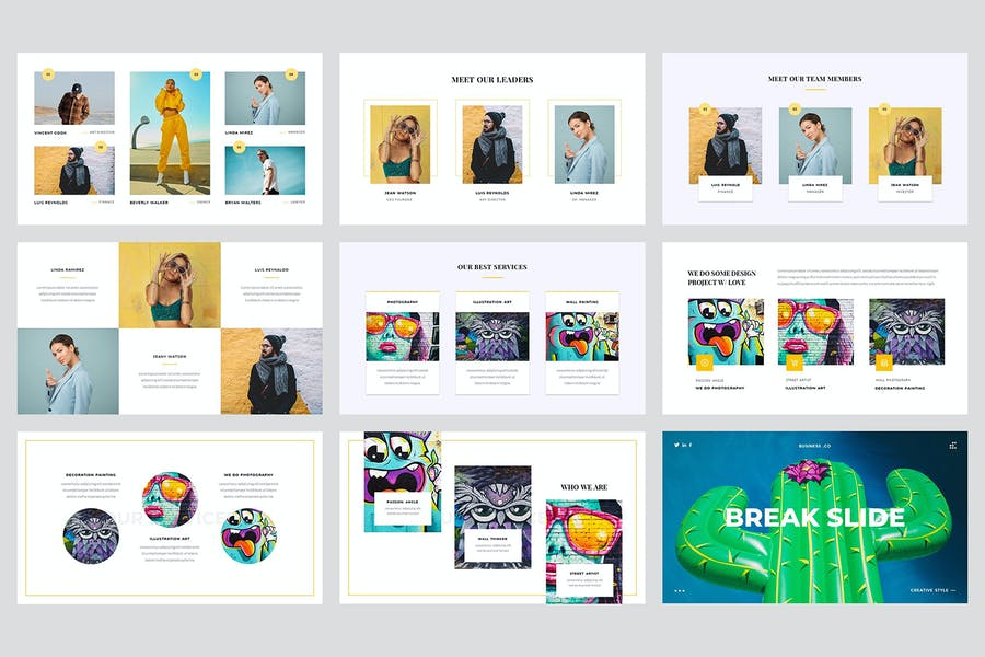 Vagabond - Creative & Business Keynote Template - product preview 2
