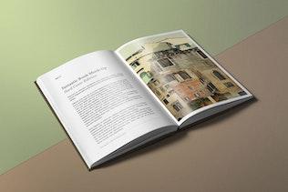 Thumbnail for Hard Cover Book Mockup